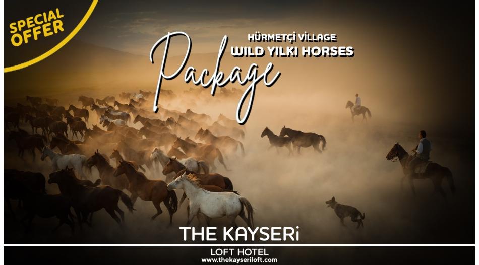 Özel Fırsat Hürmetçi Köyü & Vahşi Yılkı Atları Turu